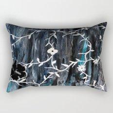 Grey Vines Rectangular Pillow