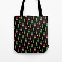pineapples Tote Bags featuring Pineapples! by Rendra Sy