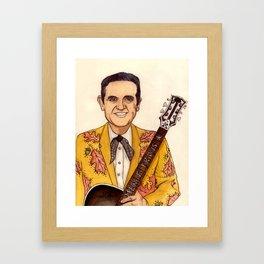 Merle Travis II Framed Art Print