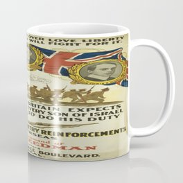 Vintage poster - British Recruiting Coffee Mug
