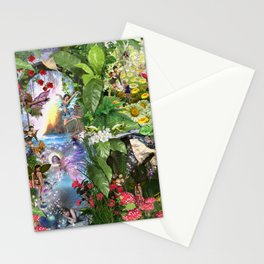 Fairy Kingdom Forest Dreamland Fantasy Stories Stationery Cards