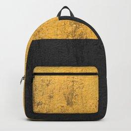 Concrete black and glod Backpack