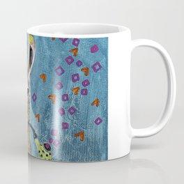 Llama with pipe Coffee Mug