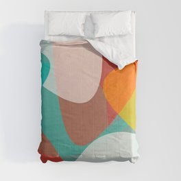 Holiday Season Abstract 1 Comforters