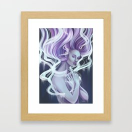Essentia Spiritu Digital Painting Framed Art Print