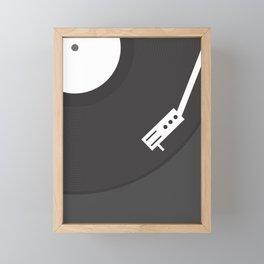Vinyl Record Framed Mini Art Print