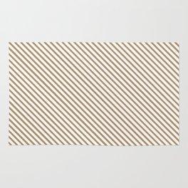 Iced Coffee Stripe Rug