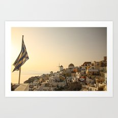 The Greek Feeling Art Print
