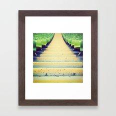 sea(ts) Framed Art Print