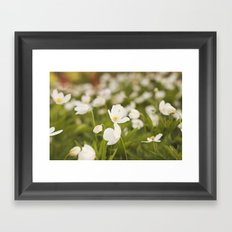 Tiny Flower Framed Art Print