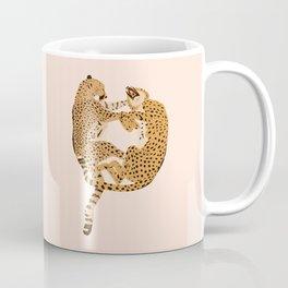 Cheetah Cuddles Coffee Mug