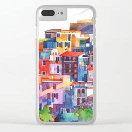 Cinque Terre vol2 Clear iPhone Case