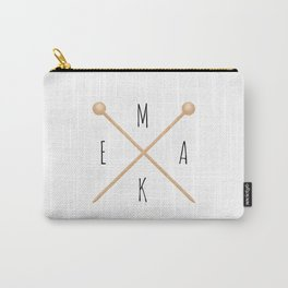 MAKE  |  Knitting Needles Carry-All Pouch