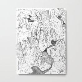 Daughters of Achelous Metal Print