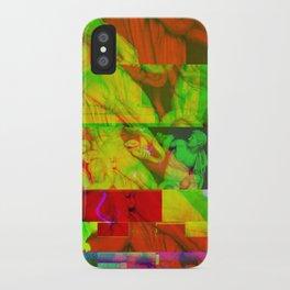 Poseidon Glitch 01 iPhone Case