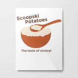 Scoopski Potatoes Impractical Jokers Larry Joe Sal Murr Funny Tumblr Comedy  Metal Print