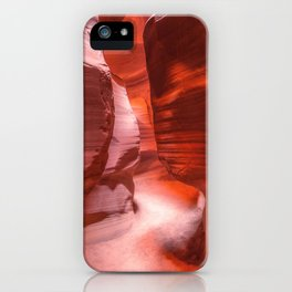 Path of Light - The Beauty of Antelope Canyon in Arizona iPhone Case