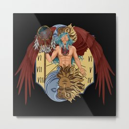 Tempus guardian of time Metal Print