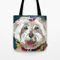 fancy Tote Bags featuring Fancy  by Maritza Hernandez