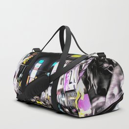 Times Square New York Art Duffle Bag