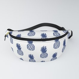 Navy Pineapple Fanny Pack