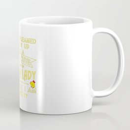 Super cute Chicken lady Coffee Mug