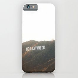 Hollywood Gold iPhone Case