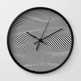 Cinetic Waves Wall Clock