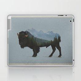 Wyoming Bison Flag Laptop & iPad Skin