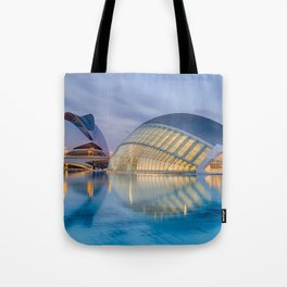 CALATRAVA | architect ARCHITECTURE | City of Arts and Sciences III Tote Bag