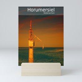 D - Niedersachsen : Horumersiel Mini Art Print