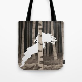 Shy Ghost Tote Bag
