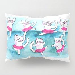Cats dancing Pillow Sham