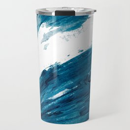 Bunny Blue Travel Mug