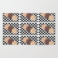 cookies Area & Throw Rugs featuring Eat Cookies by Sartoris ART