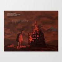 mythology Canvas Prints featuring Mythology e01p03 by Biram Ba