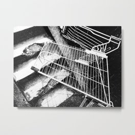 Help, I've Fallen And Can't Get Up Metal Print