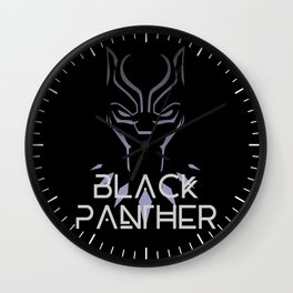 BlackPanther Face Wall Clock