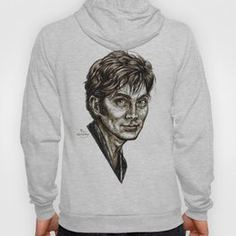 David Tennant - Doctor Who - Allons-y (Drawing) Hoody