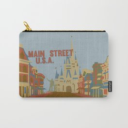 main street usa..  Carry-All Pouch