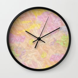 Abstract painting on a stone Wall Clock