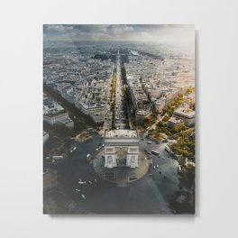Rise & shine over the Arc! Metal Print