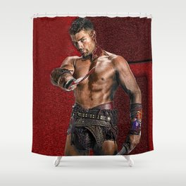 Liam McIntyre Spartacus 1 Shower Curtain