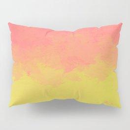Peach Lime Ombré Pillow Sham