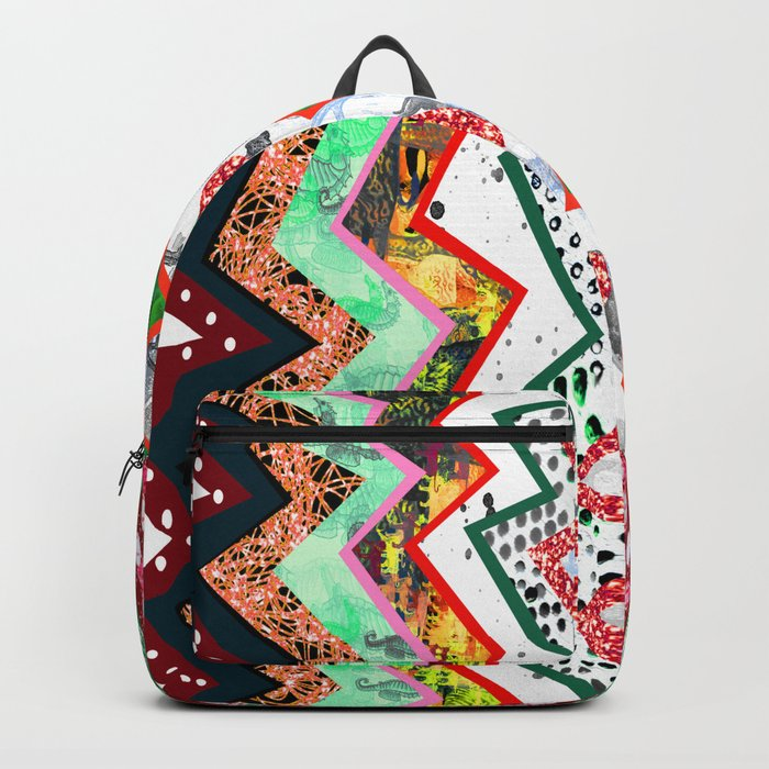 Candy Land Zigzags Backpack