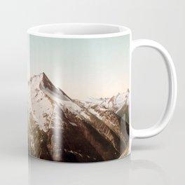 Vintage Mountain Peaks Coffee Mug