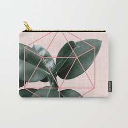 Geometric greenery III Carry-All Pouch