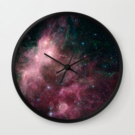 Life and Death Intermingled Wall Clock