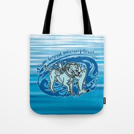 (v2) Swim Beyond Misconceptions Tote Bag
