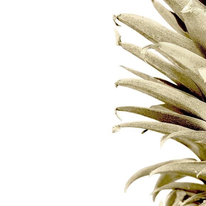 Gold Pineapple Surprise Leggings